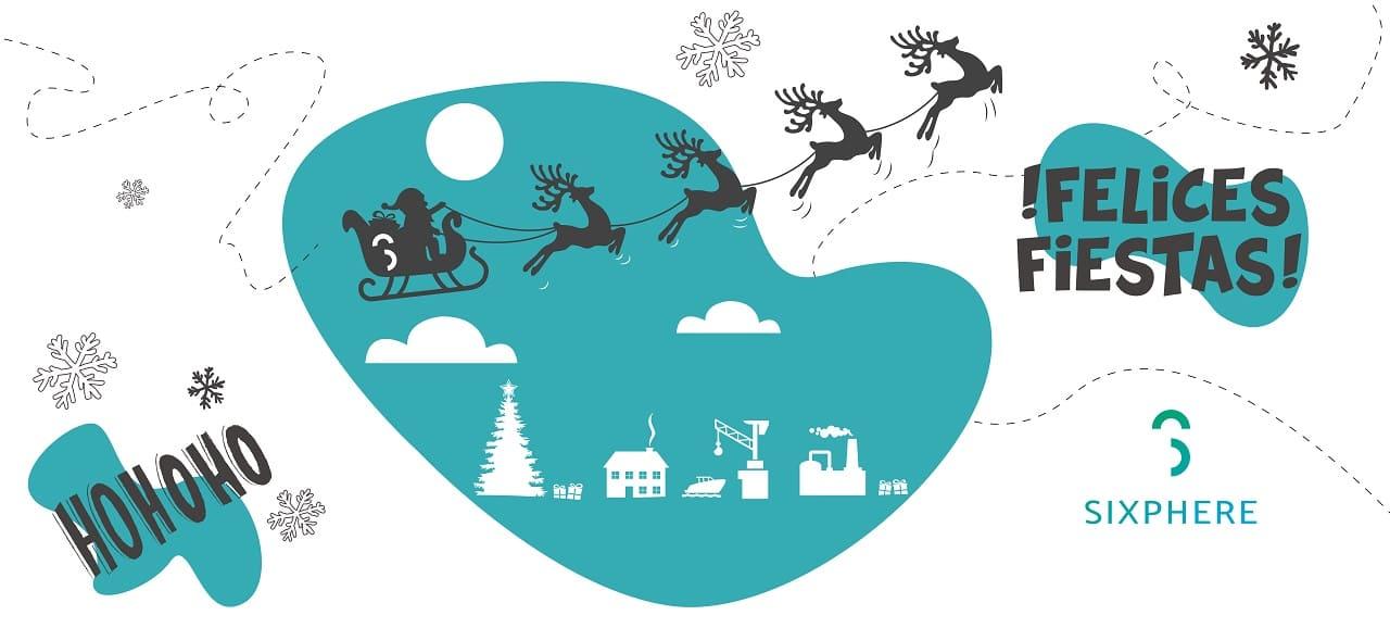 ¡Sixphere os desea feliz Navidad!