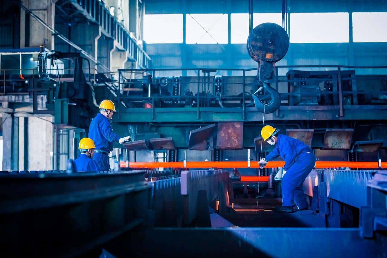 El sector industrial en Europa
