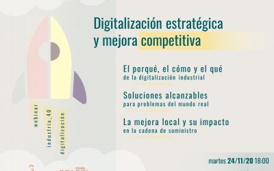 Digitalizar con estrategia para ser más competitivo. Así fue nuestro webinar con SPACE Aero